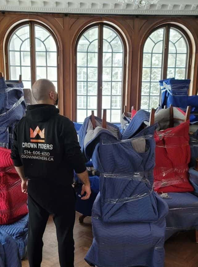 residential moving services in Montreal